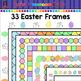 33 Easter Borders