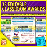 33 Editable School Awards - End of the Year Awards