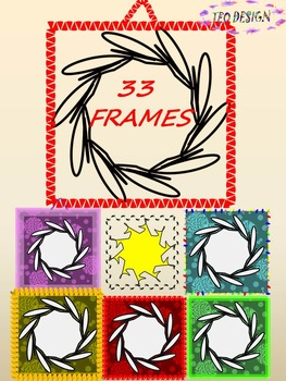 Frames - Clip Art - Personal or Commercial Use