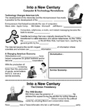 33 - Into a New Century - Scaffold/Guided Notes (Blank and Filled-In)