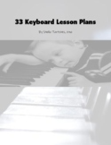 33 Keyboard Lesson Plans