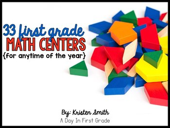 33 Math Centers for Anytime of the Year!! {Aligned to the Common Core!!}