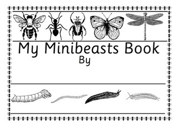 34 Page Australian Minibeast Bugs Insects Fact & Work Book Vic Modern Cursive