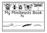 34 Page Australian Minibeast Bugs Insects Fact & Work Book