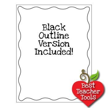 33 Wavy Border Tone on Tone Papers {Best Teacher Tools} AMB-1889