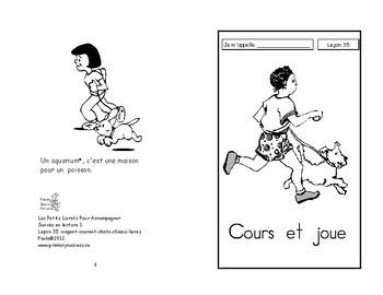 35) cours et joue- livret de lecture ENFANT C1 1ère-2e