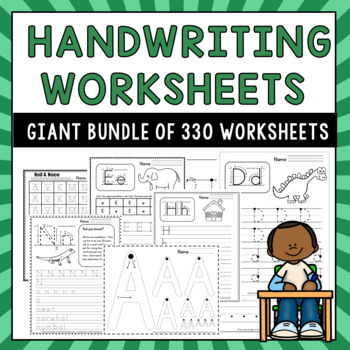 330 Handwriting Worksheets
