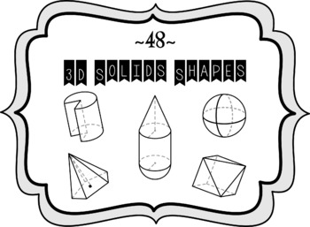 [48] 3D Solids Shapes