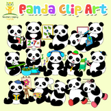 34 Panda Clip Art (clipart) images in educational settings