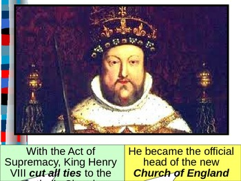 UNIT 6 LESSON 4. Reformation in England POWERPOINT