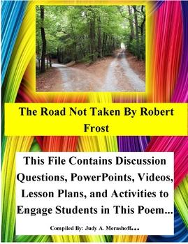 The Road Not Taken by Robert Frost Teacher Supplemental Resources Fun Engaging