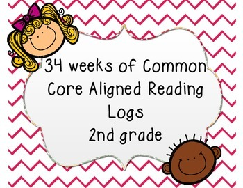 34 Weeks of Common Core Aligned Reading Logs!