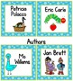 Classroom Library Labels for Book Bins and Individual Book