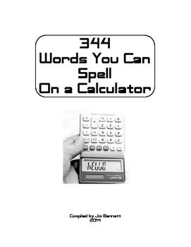 344 Calculator Words