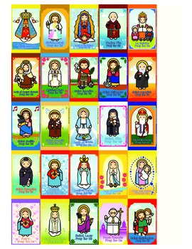 35 Catholic Flash Cards - Catholic