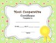 End of the Year Awards Superlatives 30 Cute Fillable Editable Certificates K - 5
