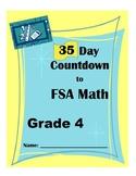 35 Day Countdown to Math FSA- Grade 4