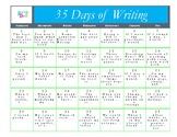 35 Days of Writing