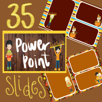 35 Fall/Thanksgiving PowerPoint Backgrounds