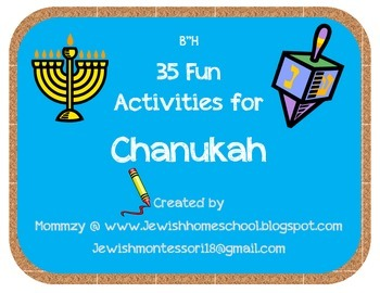 35 Fun Hands On Activities for Chanukah