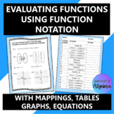 Evaluating Functions using Function Notation