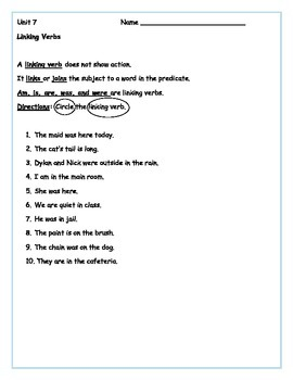 35 Grammar Rules Worksheets - Parts of Speech & Punctuation Rules