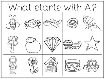 35 Letters and Sounds Work Mats and Worksheets. Preschool ...
