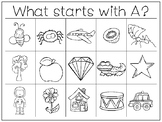 35 Letters and Sounds Work Mats and Worksheets. Preschool-
