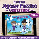 20-Piece DIGITAL JIGSAW PUZZLES Online Games on GRATITUDE