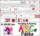 35 Romping & Roaring ABC Packs