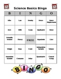 35 Science Basics Vocabulary BINGO Cards