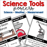 35 Science Tools Posters (Science Tools, Weather Tools, Measurement Tools)