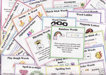 35 Spelling Activities