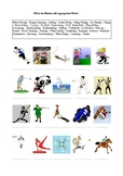35 Sports and Extreme Sports - A Worksheet