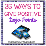 35 Ways to Give Positive Dojo Points