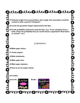 35 Ways to Use Extra Book Club Flyers