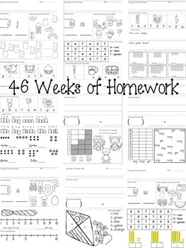 46 Weeks of Homework