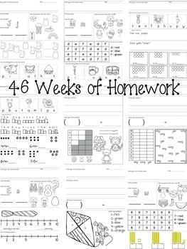 46 Weeks of Homework