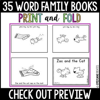 35 Word Family Books