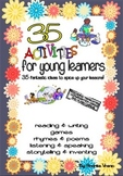 35 fun activities for young learners