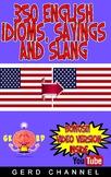 350 English Idioms, Sayings and Slang