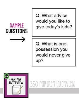 PARTNER INTERVIEW