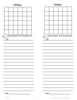36 Bingo~ A Computation Game Distance Learning