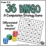 36 Bingo – Computation Game   Distance Learning