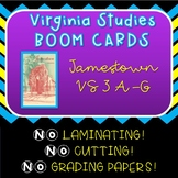 Virginia Studies SOL Review Jamestown Unit VS 3