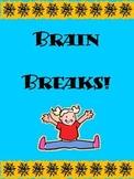 36 Brain Break Movement Activities!