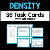 Density Task Cards with QR Codes - Physical Science and Chemistry