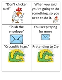 36 Idiom Picture/Phrase Cards