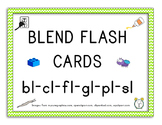 36 L Blend Flashcards with Pictures