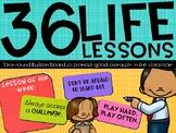 36 Life Lessons - Rainbow Brights